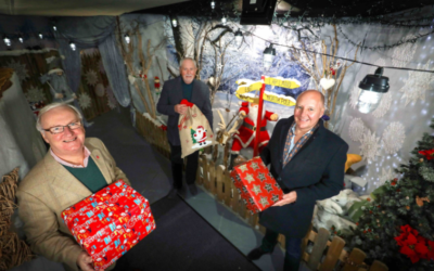 NI telecommunications firm donates £20,000 to children's Lapland charity after reading moving story in local press
