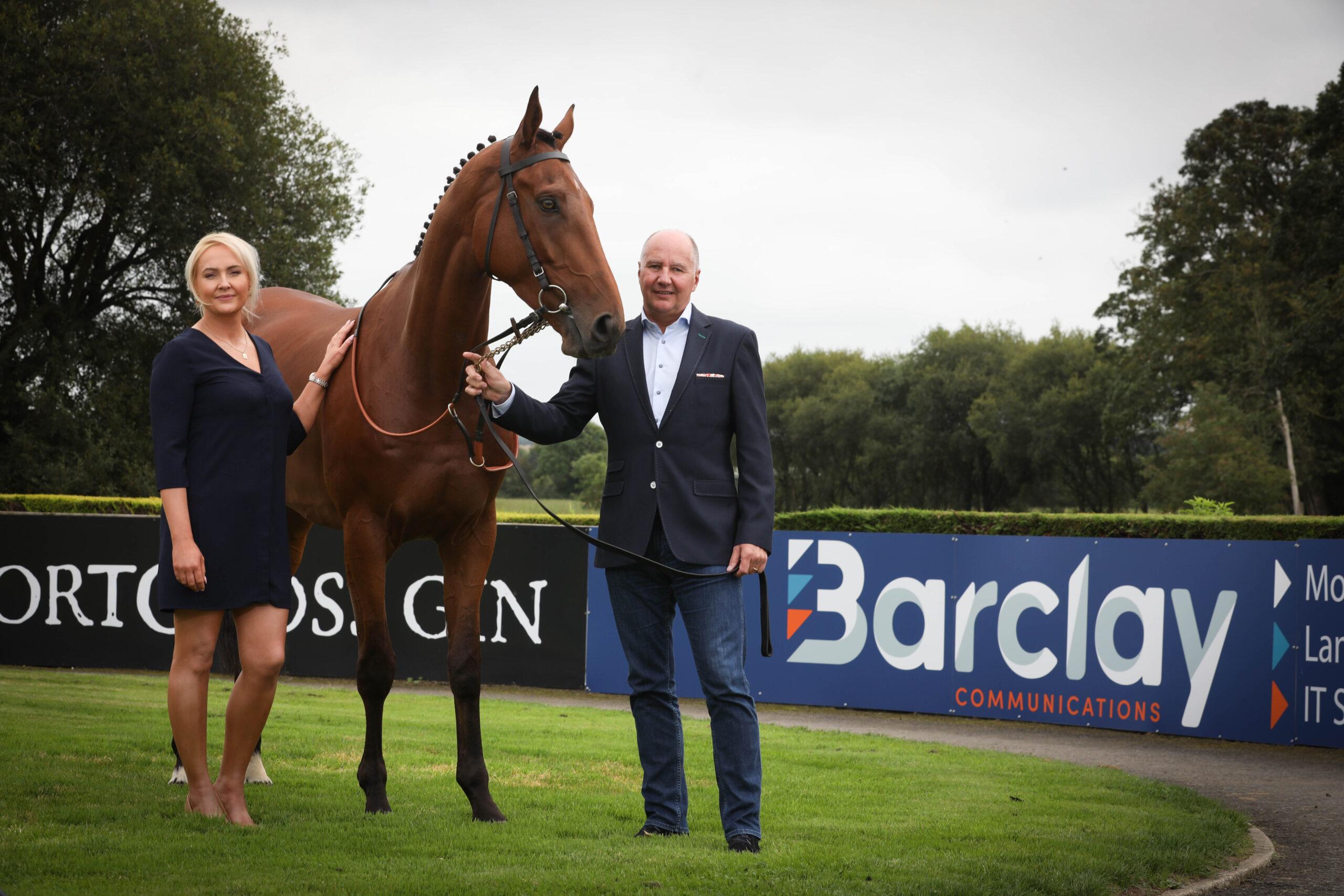 Barclay communications and down royal partnership